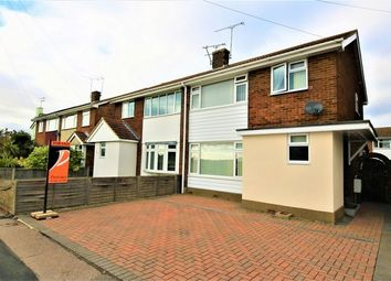 Thumbnail 3 bed semi-detached house for sale in Furtherwick Road, Canvey Island, Essex