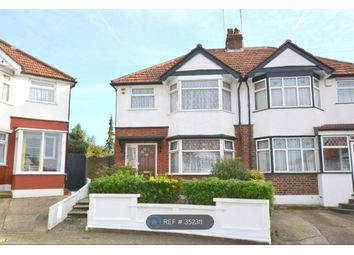 Thumbnail 3 bed semi-detached house to rent in Stuart Avenue, London