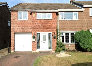 Thumbnail 4 bed semi-detached house for sale in Epsom Close, Mexborough, South Yorkshire, uk