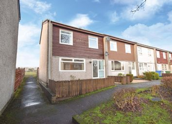 Thumbnail 3 bed end terrace house for sale in Fir Drive, East Kilbride, Lanarkshire