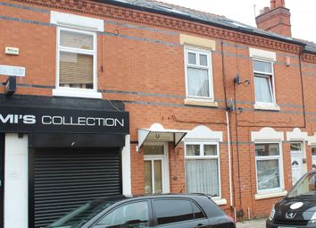 Thumbnail 4 bedroom terraced house for sale in Bonsall Street, Off East Park Road, Leicester