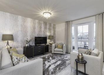 Thumbnail 2 bedroom flat for sale in 232 Bray House, Jubilee Meadows, Felcott Road, Hersham, Surrey