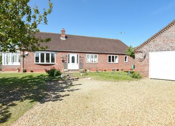 Thumbnail 3 bed detached bungalow for sale in West Lane, Haltham, Horncastle