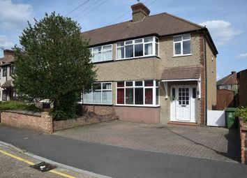 Thumbnail 3 bedroom property for sale in Clive Avenue, Crayford, Dartford