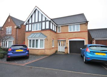 Thumbnail 4 bed detached house for sale in Buckingham Road, Coalville