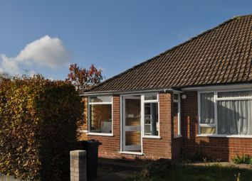 Thumbnail 3 bed semi-detached bungalow to rent in Walnut Close, Kennington, Ashford