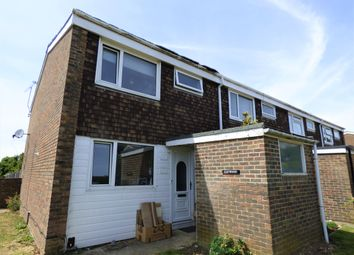 Thumbnail 3 bed end terrace house to rent in Pentland Road, Worthing