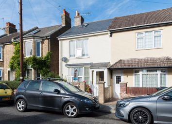 Thumbnail 3 bed end terrace house for sale in Downs Road, Walmer, Deal