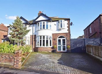 Thumbnail 4 bed semi-detached house for sale in Wilmslow Road, Didsbury, Manchester