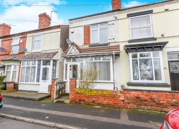 Thumbnail 2 bedroom terraced house for sale in Essex Street, Walsall, West Midlands
