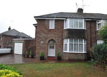 Thumbnail 3 bed semi-detached house for sale in Longworth Avenue, Tilehurst, Reading