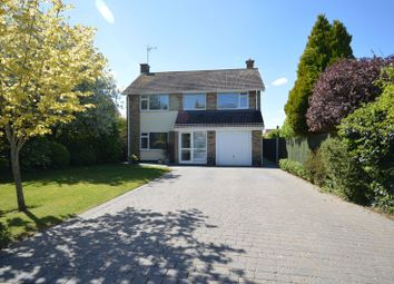 Thumbnail 4 bed detached house for sale in Fernie Dene, Great Glen, Leicester