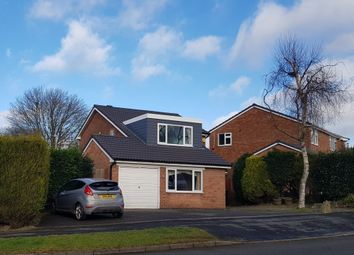 Thumbnail 4 bed detached house for sale in Romans Crescent, Coalville, 4