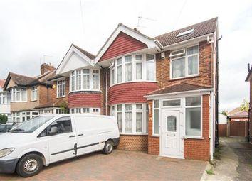 Thumbnail 4 bed semi-detached house for sale in Camplin Road, Kenton, Harrow