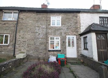 Thumbnail 2 bed terraced house for sale in Castle Road, Churchstoke, Montgomery