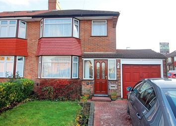 Thumbnail 4 bed semi-detached house to rent in Northolme Gardens, Burnt Oak, Edgware