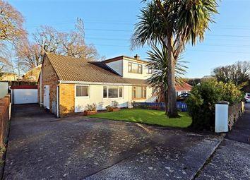 Thumbnail 2 bed semi-detached bungalow for sale in Underhill Drive, Tonteg