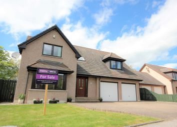 Thumbnail 4 bed detached house for sale in Leslie Park, Old Rayne, Insch