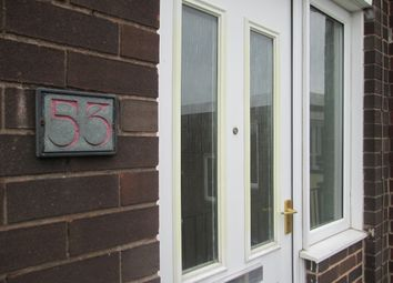 Thumbnail 2 bed maisonette to rent in Lockwood Street, Newcastle Under Lyme, Staffordshire