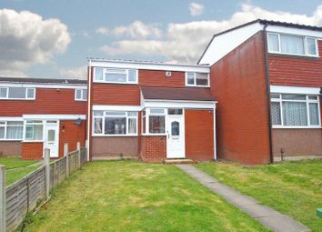 Thumbnail 3 bed terraced house for sale in Chedworth Close, Redditch