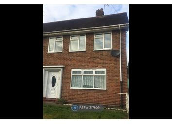 Thumbnail 3 bed end terrace house to rent in Outmore Road, Birmingham