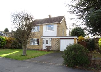 Thumbnail 3 bed detached house for sale in Abbotts Oak Drive, Coalville, Leicestershire