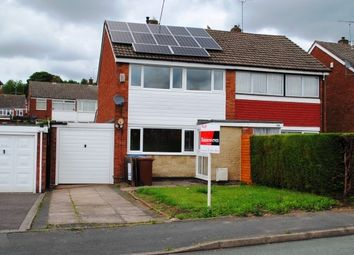 Thumbnail 3 bed property to rent in Sharon Way, Hednesford, Cannock