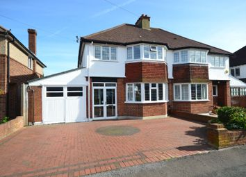 Thumbnail 3 bed semi-detached house for sale in Browning Avenue, Sutton