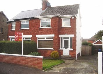 Thumbnail 3 bed semi-detached house to rent in Mount Merrion Drive, Belfast