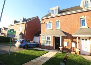 Thumbnail 4 bedroom semi-detached house for sale in The Covert, Coulby Newham, Middlesbrough