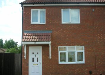 Thumbnail 3 bed semi-detached house for sale in Rockingham Road, Corby