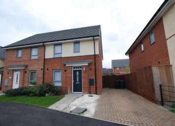 Thumbnail 3 bedroom semi-detached house for sale in Piper Court, Newcastle Upon Tyne