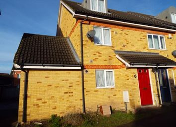 Thumbnail 3 bed end terrace house for sale in Teasel Crescent, West Thamesmead, London