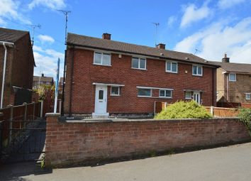 Thumbnail 3 bed semi-detached house to rent in Valley Road, Shirebrook, Mansfield
