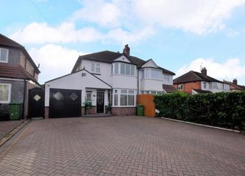 Thumbnail 3 bed semi-detached house to rent in Haslucks Green Road, Solihull, West Midlands