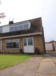 Thumbnail 2 bed semi-detached house for sale in Burcom Avenue, Humberston, Grimsby