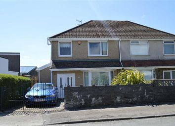 Thumbnail 3 bed semi-detached house for sale in Graigllwyd Road, Swansea