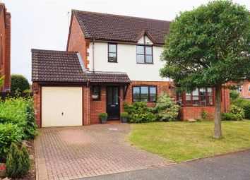 Thumbnail 3 bed semi-detached house for sale in Cranesbill Drive, Worcester
