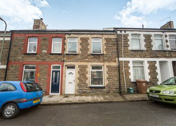 Thumbnail 2 bed terraced house for sale in Goodrich Street, Caerphilly