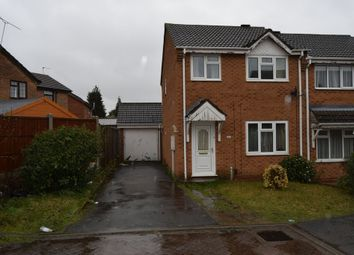 Thumbnail 3 bed semi-detached house to rent in Danbury Drive, Beaumont Leys, Leicester