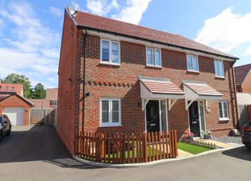 Thumbnail 2 bed semi-detached house for sale in King Court, Botley, Southampton