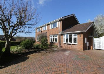 Thumbnail 4 bed detached house for sale in Fermain Close, Newcastle-Under-Lyme