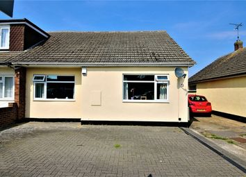 Thumbnail 2 bed semi-detached bungalow for sale in 78 Lionel Road, Canvey Island, Essex