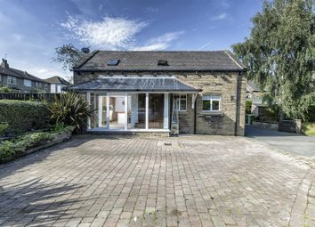 Thumbnail 4 bed detached house for sale in Thornhill Road, Edgerton, Huddersfield