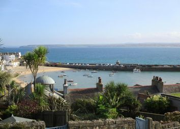 Thumbnail 1 bed flat for sale in Barnoon Terrace, St. Ives, Cornwall