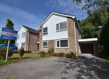 Thumbnail 4 bed detached house to rent in Durnsford Avenue, Fleet