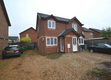 Thumbnail 2 bed semi-detached house for sale in Poplar Close, Horsford