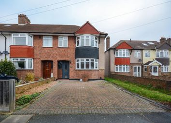 Thumbnail 3 bed semi-detached house for sale in Hillcross Avenue, Morden