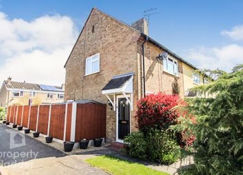 Thumbnail 2 bed end terrace house for sale in Cromes Place, Raf Coltishall, Norwich