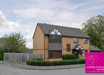 Thumbnail 4 bed detached house for sale in Hill House Gardens, Stanwick, Northamptonshire